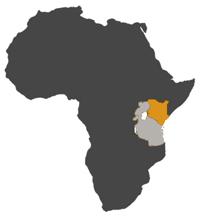 small MAP KENYA